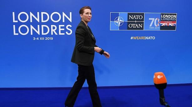 Statsministeren lover fire kampfly mere til Nato i to år