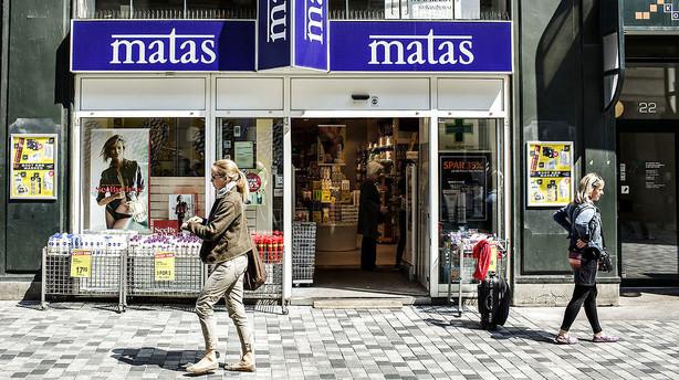 Matas melder konkurrent for at bruge vildledende skilte