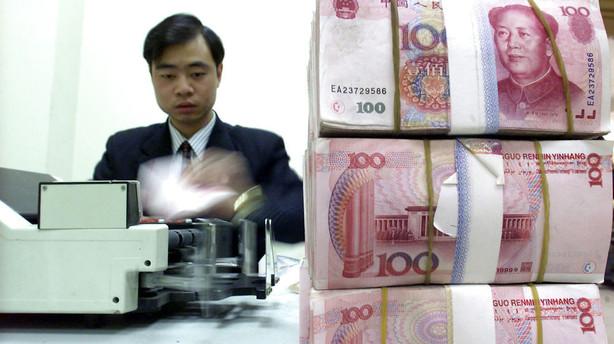 Kina: Centralbank sprøjter 315 mia. yuan ud i nervøst pengemarked