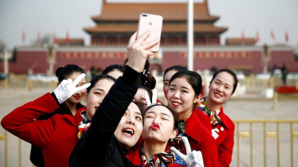 Kina forventer økonomisk vækst på 6,5 procent i år