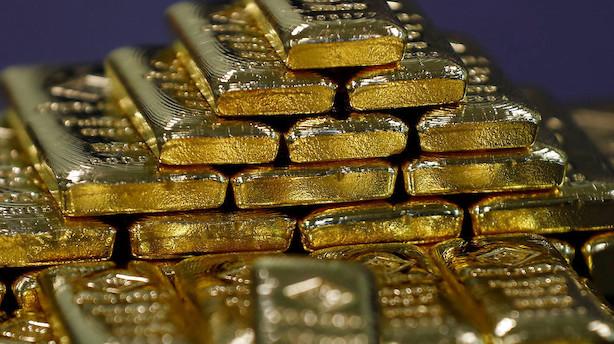 Råvarer: Dollar og højere amerikanske renter presser guld