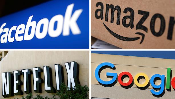 Amerikanske aktier tæt på comeback - Tech-giganter trak læsset