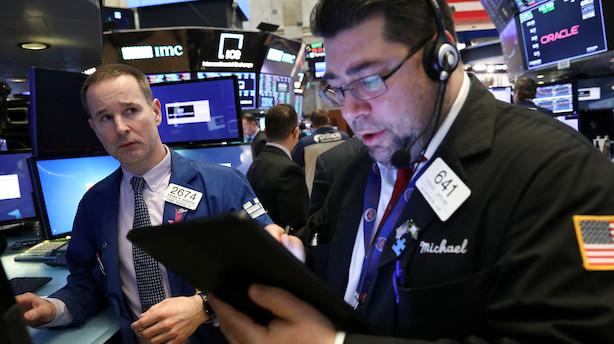 USA: Positiv åbning blev erstattet med skepsis og fald på aktiemarkedet