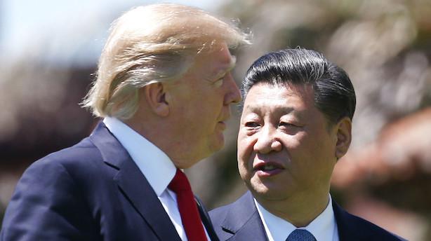 Trump forhøjer told på kinesiske varer - Kina varsler modtræk