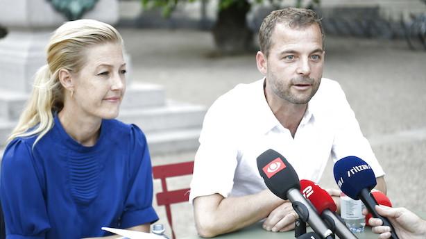 Morten Østergaard: Man løber ikke om hjørner med os