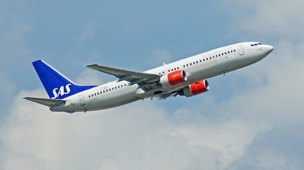 SAS fløj med flere passagerer i juni end samme måned sidste år