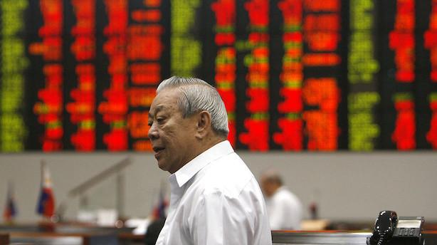 Aktier: Renteindikationer fra Fed sender markederne markant op i Asien