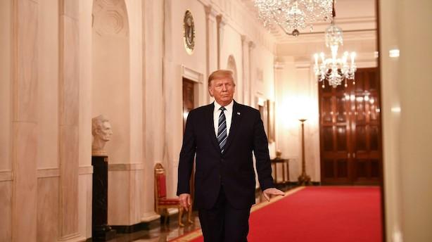 Aktieluk i Europa: Trump dæmpede optimismen