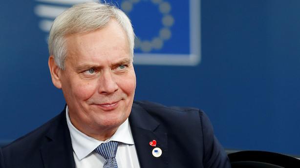 Finlands præsident: Regering træder tilbage i dag