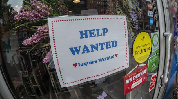 Kongen holder tempo: 145.000 nye amerikanske job i december