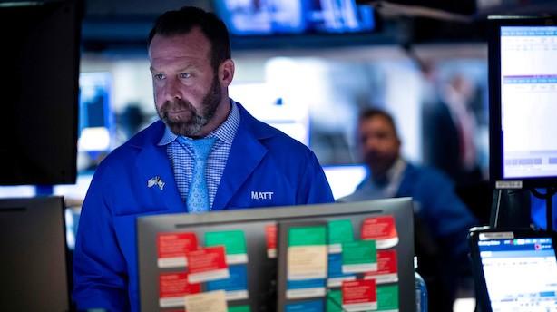 Aktiestatus i USA: Dow Jones stiger mest i ellers afventende marked