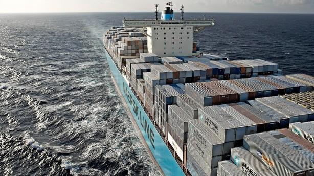 Mærsk-skib centrum i drama mellem Iran og USA