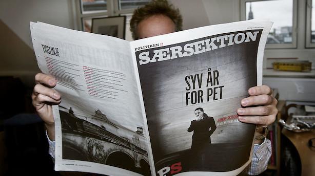 PET stævner JP/Politikens hus - vil have redaktør i fængsel