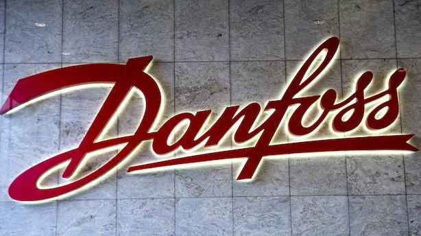 Ny Danfoss-topchef debuterer med kraftig vækst i halvårsrapport