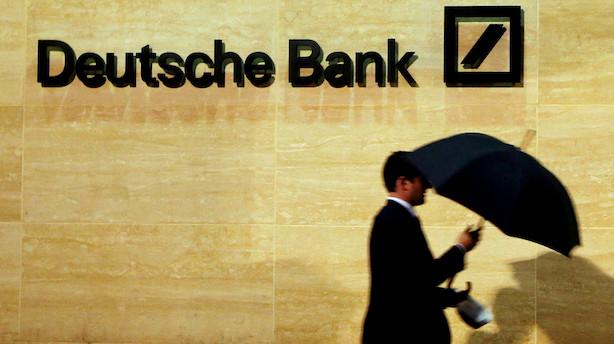 Deutsche Bank skærer dybt - selv frugtordningen ryger ud