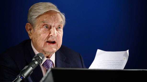 Bommertfri zone og nye angreb fra Soros: Det vigtigste fra tredjedagen i Davos