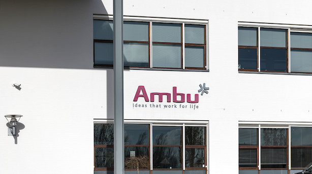 Markedet lukker: Ambu i toppen af C25 -  Arkil steg mest af alle efter købstilbud