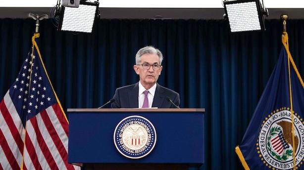 Analytikere forventer snarlige rentenedsættelser efter nyt fra Fed