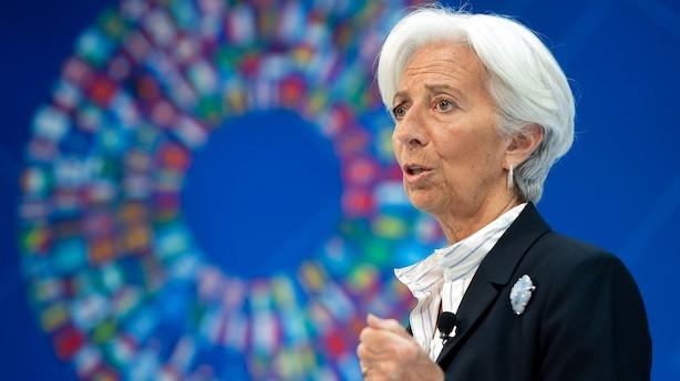 Aktieluk i Europa: Positiv stemning efter udpegning af Draghis afløser