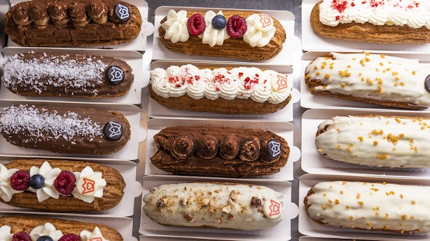 Delikat kagenyhed i Københavns Grønnegade: Eclairs, eclairs og atter eclairs