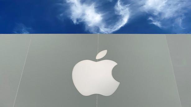 UBS løfter kursmål for Apple med 27 pct: Store 5G opgraderinger i vente