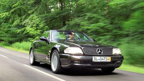 Gammel Mercedes er et røverkøb til 1 mio kr