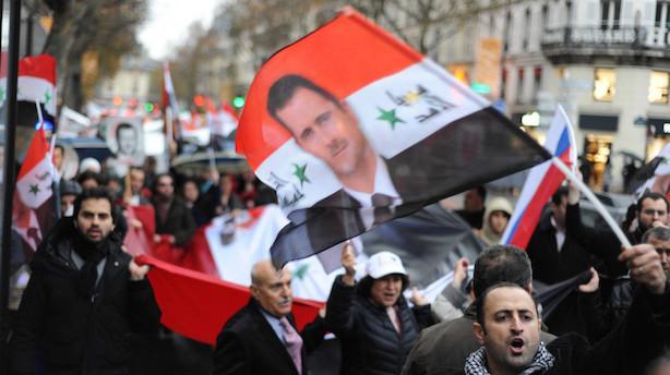 Rusland: Syriens regering og opposition forhandler