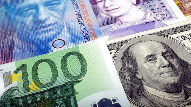 Valuta: Dollars svaghed fortsætter