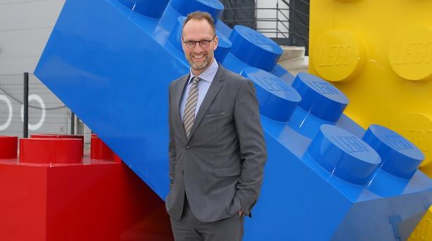 Skuffet Jørgen Vig Knudstorp: Lego-salget dykker 5 pct.
