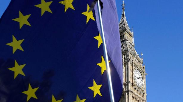 EU udskyder brexit-forhandlinger: Pundet falder
