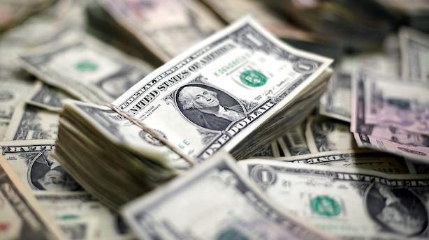 Amerikanernes gæld er steget 2967 milliarder kroner på et år
