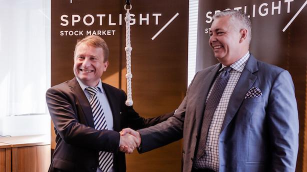 Aktie brager i vejret hos dansk virksomhed inden for risikovurdering
