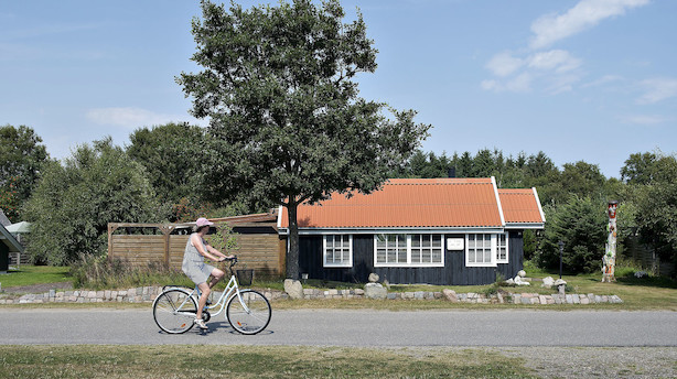 Sommerhuse bliver revet af markedet - udbud er faldet 7,2 pct på 12 måneder