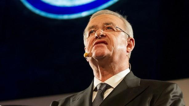 Tidligere VW-topchef anklaget for dieselfusk