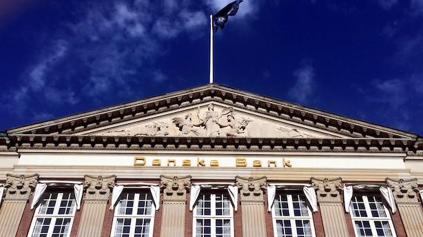Danske storbanker bløder på børsen