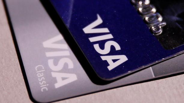Over halvdelen af Visa-betalinger uden for USA er trådløse