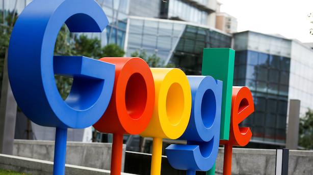 Google-moder topper forventningerne - aktien brager frem