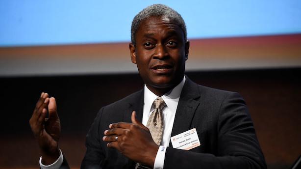 Fed-chef i Atlanta imod rentesænknig - ville have mere råderum
