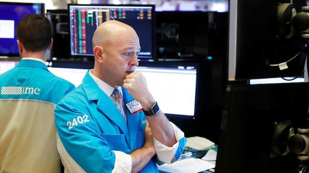 Aktieåbning i USA: Rider med på den negative bølge