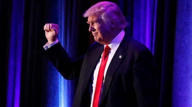 Analyse: Europa håber Trump har løjet hele valgkampen