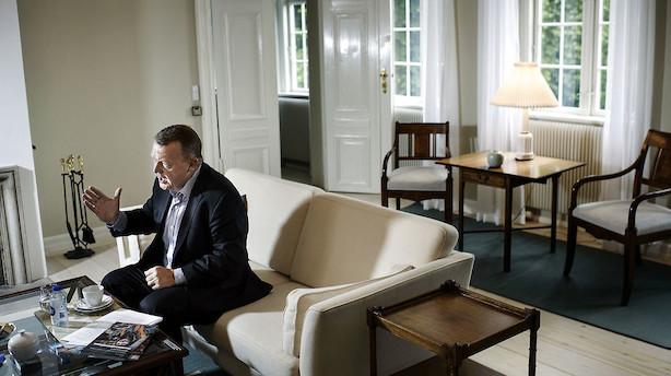Marienborg modtager nye møbler for millioner