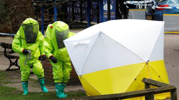 21 personer er behandlet efter angreb med nervegas