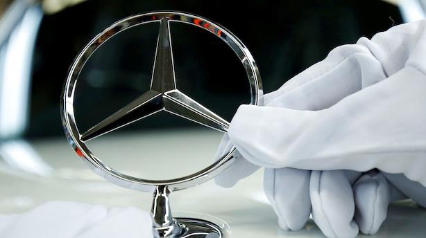 Daimler nedjusterer efter forsinkelse og dieseludfordringer