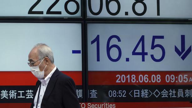 Japansk inflation uden overraskelser i januar