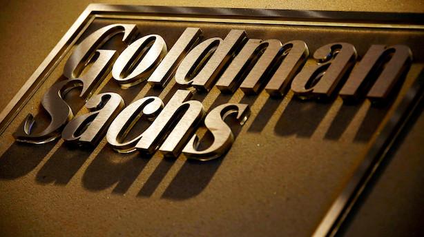 Goldman Sachs indtjening falder med en femtedel i første kvartal