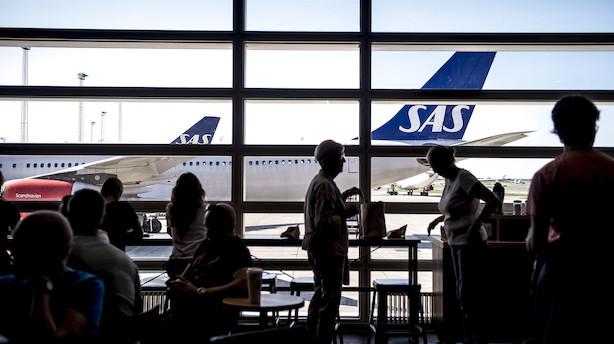 SAS-strejke og konkurser gør ondt på Københavns Lufthavn