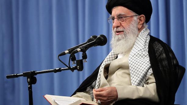 Irans øverste leder: Vi vil aldrig forhandle med USA