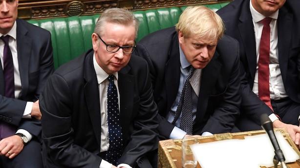 Britisk minister slår fast: Storbritannien forlader EU 31. oktober