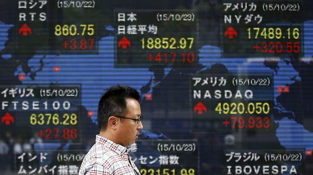 Aktier: Svingende handelshåb holder investorerne i skak i Asien