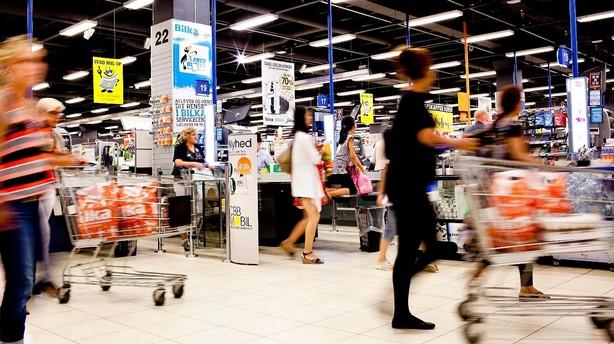 Supermarkedskrig kan ende i blodbad
